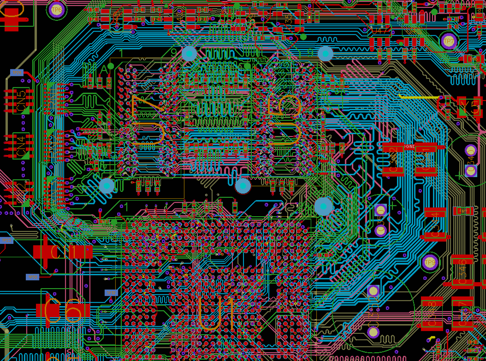 Double Sided DDR3 Layout