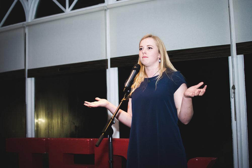 Student Speaker Winner: Fiona Cooper