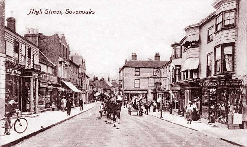 High street, Sevenoaks, 1900