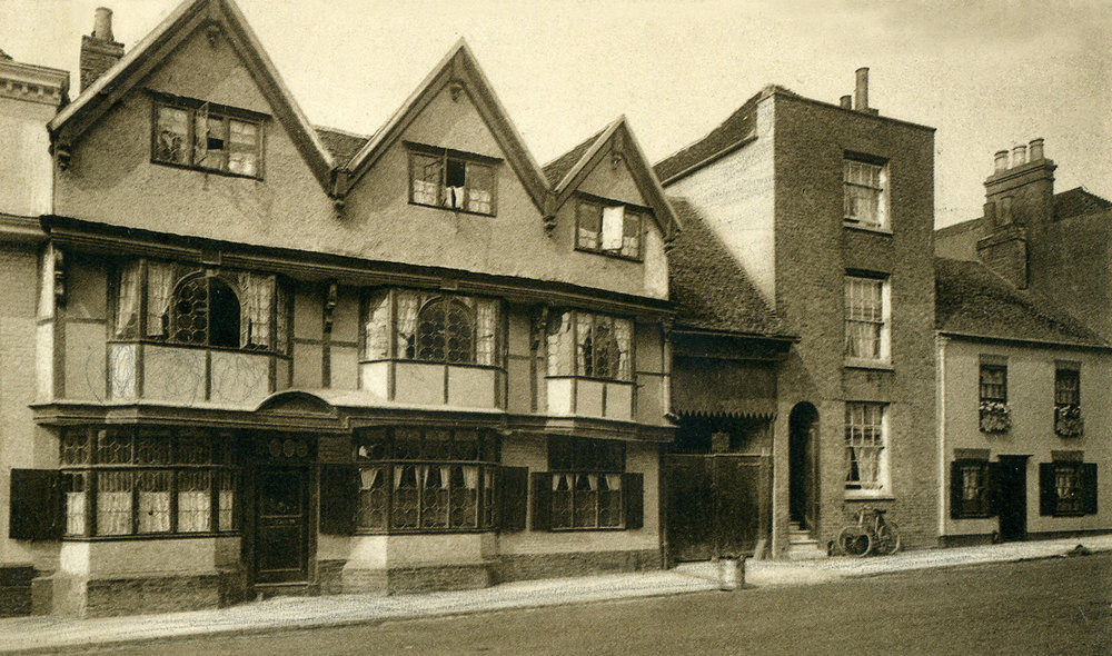 St. Dunstans old house Canterbury - 1917
