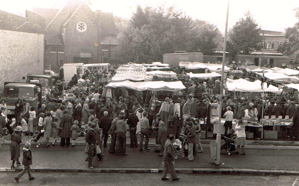 Erith market Kent - 1980