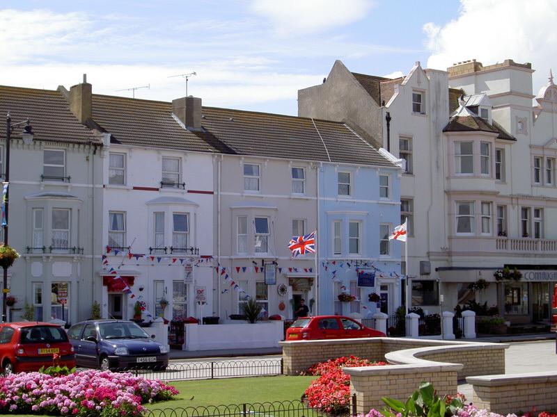 Herne Bay sea front, Kent.