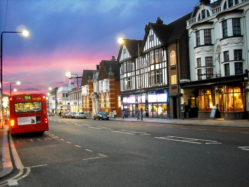 Eltham, South London.