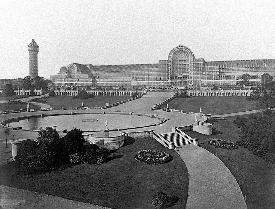 The Crystal Palace, South London.