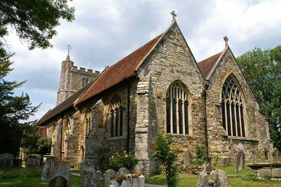 Staplehurst Church.