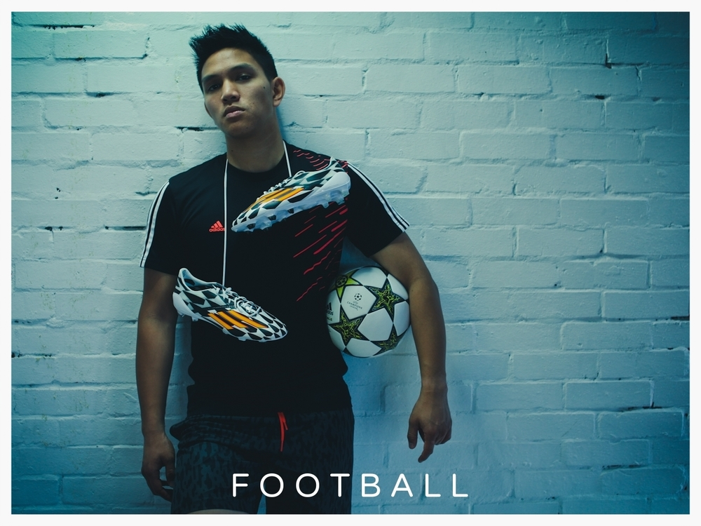 I've been football mad since before I could even walk! I'm also a professional football freestyler and former UK Champion.And yes, I  can play 11-a-side! You can see some of my skills on Disney XD's  Goalmouth.