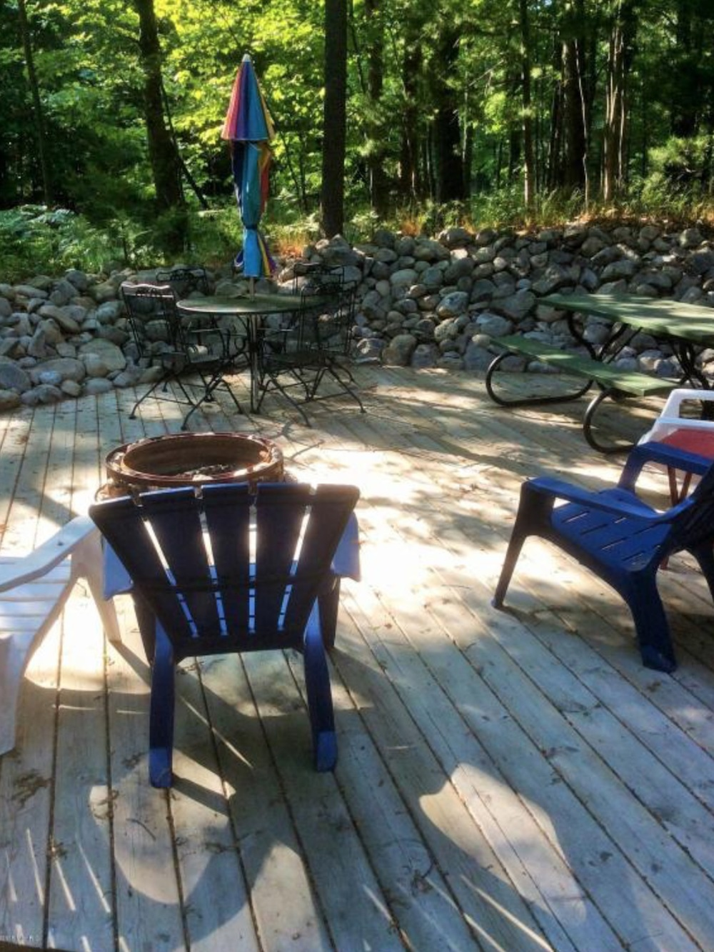 Pentwater Michigan Vacation Rental Fire pit.jpg