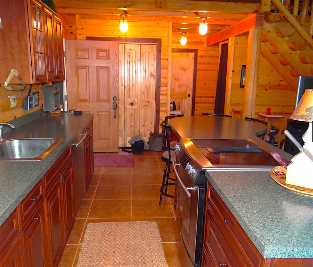 Pentwater Michigan Vacation Rental Kitchen and Entry 2.jpg