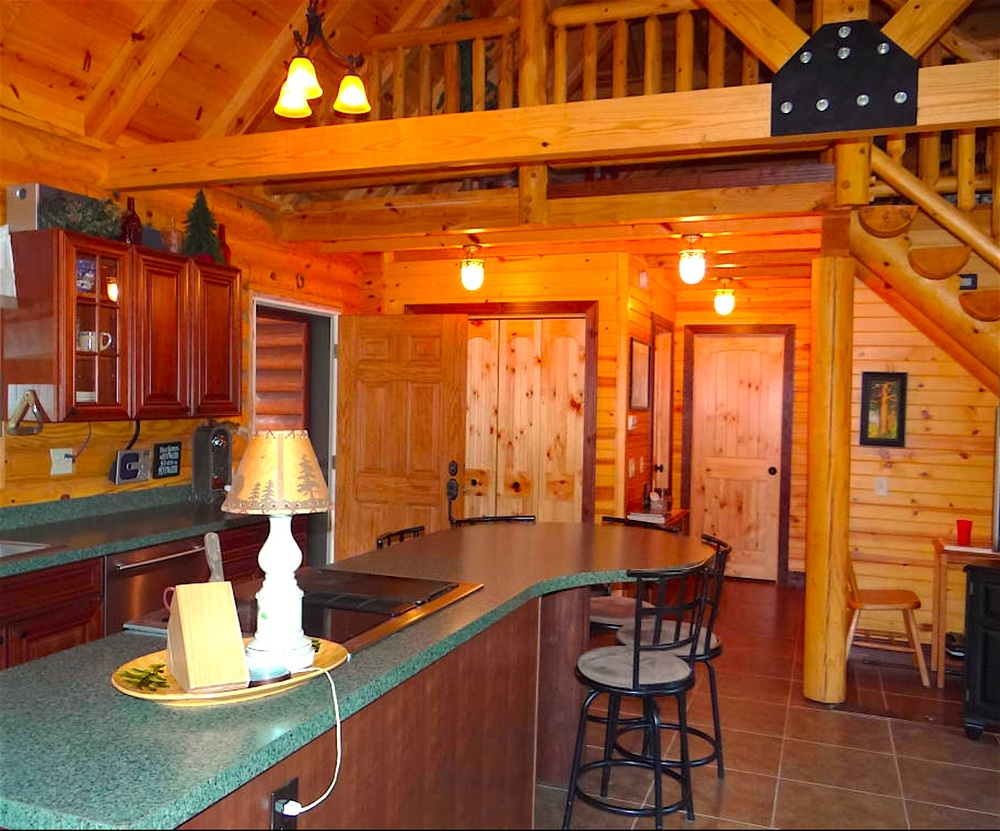 Pentwater Michigan Vacation Rental Kitchen and Entry.jpg