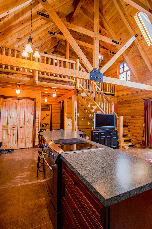 Great Room Loft Pentwater Michigan Rental.jpg