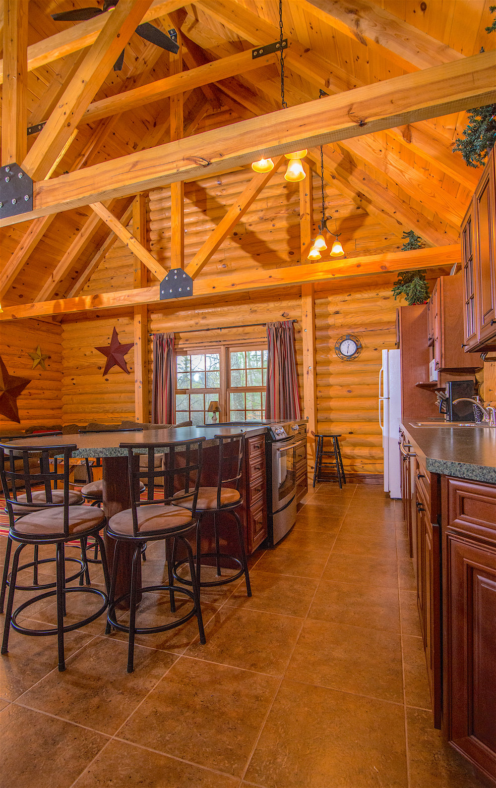 Great Room Kitchen Pentwater Michigan Cabin.jpg