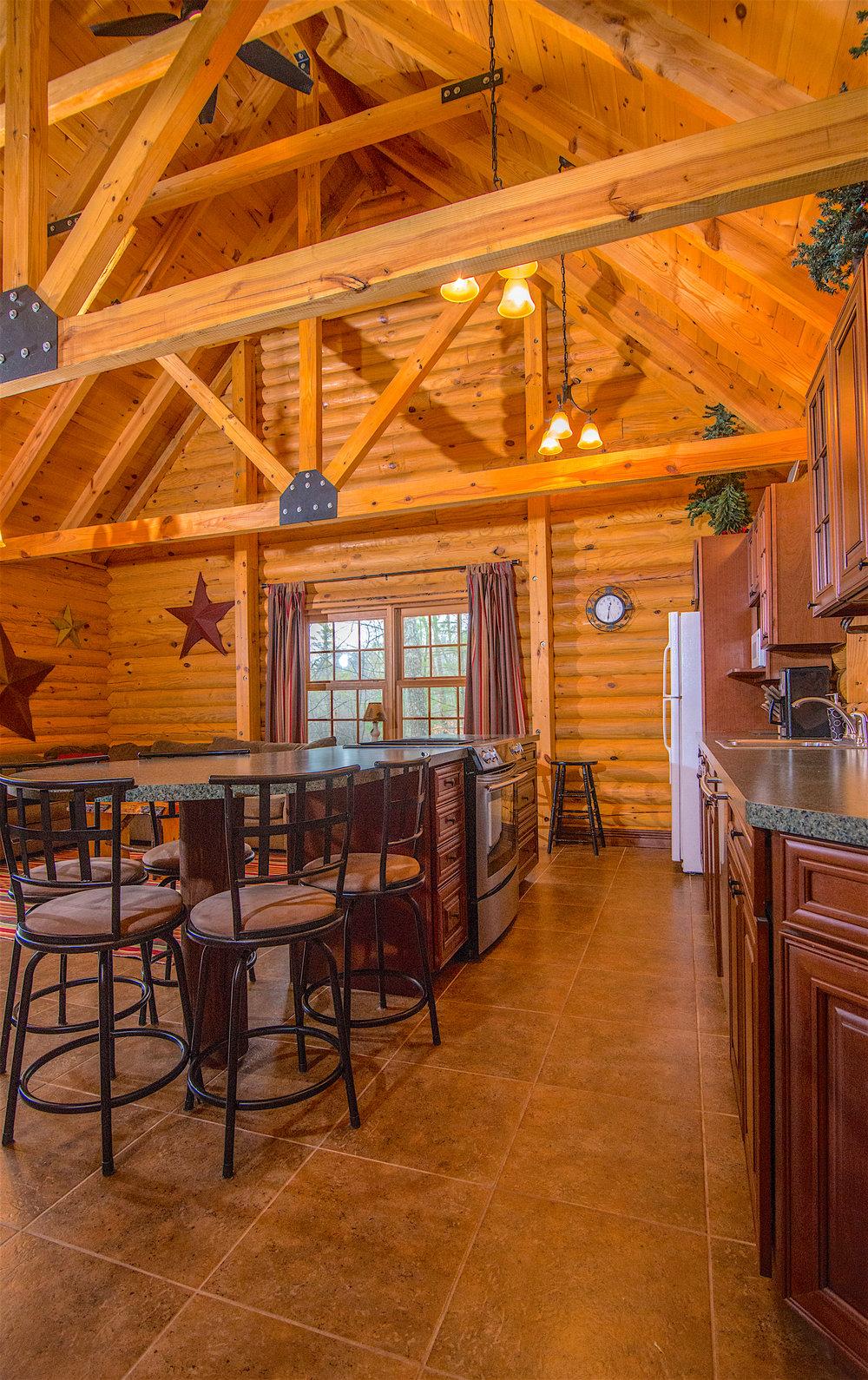 Great Room Kitchen Pentwater Michigan Cabin.jpg