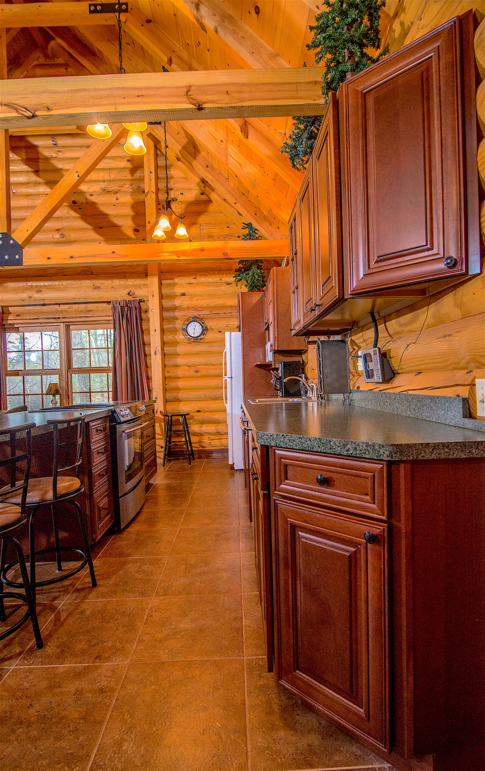 Pentwater Michigan Cabin Galley Kitchen.jpg