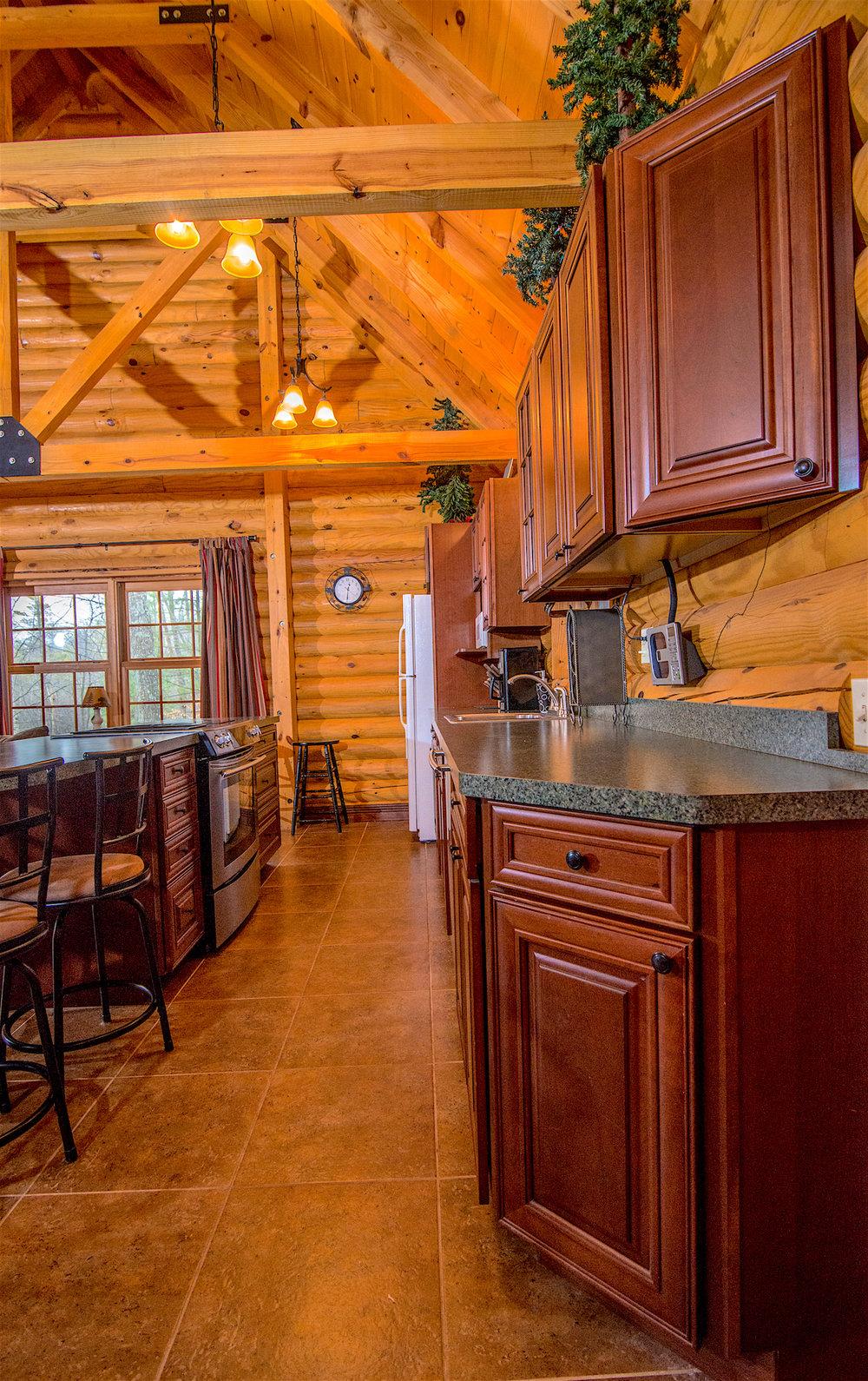Pentwater Michigan Cabin Galley Kitchen.jpg