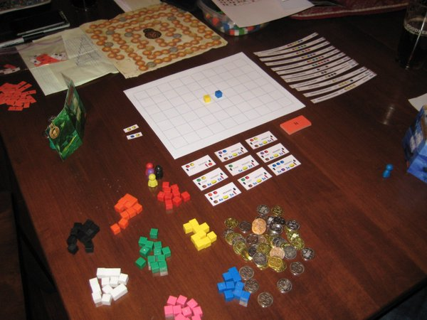 Scoville's first playtest