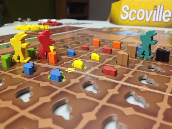 Scoville - The Process: Scoville by Ed Marriott