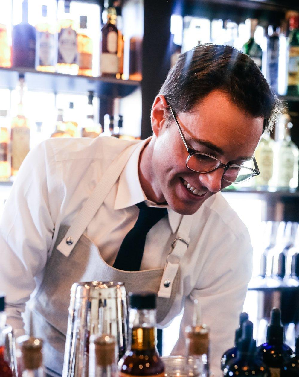Head Bartender- Kyle Currell