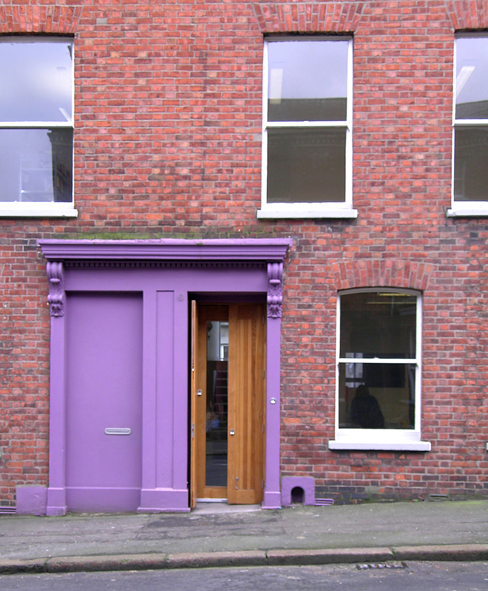 Architects Office Refurbishment   Belfast  2003 saw the conversion and upgrading of three Victorian terraced dwellings to create our new offices