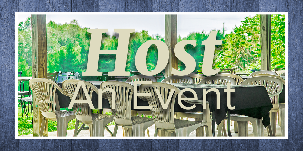 Host an event button