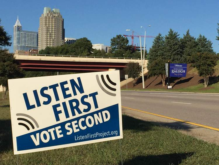 LFP: Listen First, Vote Second