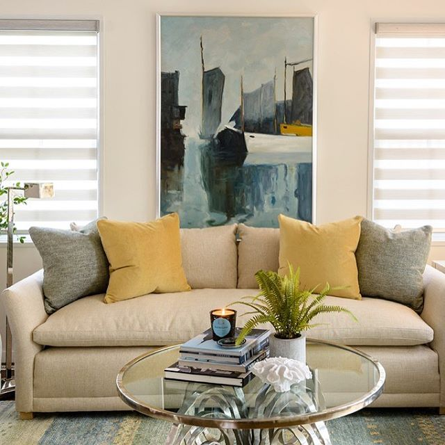A Portsmouth living room transformed... Ask us about our complimentary design services!