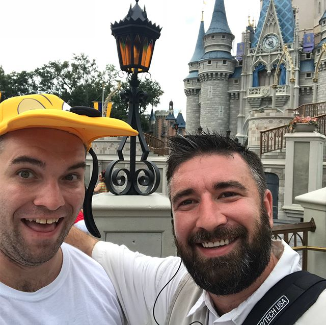 So glad I got to see this guy. Very happy and proud of him living his best life  #nofilter #disney #magickingdom
