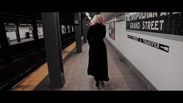 Truth addict... News soon... #thingsaremoving #newmusic #inproduction #staywithus #progressivemetal #progrock #hardrock #femalefronted #progressiverock #melodicmetal #ambientmetal #williamsburg #nycsubway #underground Photo from #musicvideo #Opposites directed by @clockworkal3x
