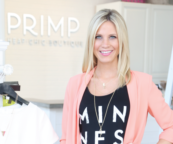 Wesley Uthus, owner of Primp Boutique