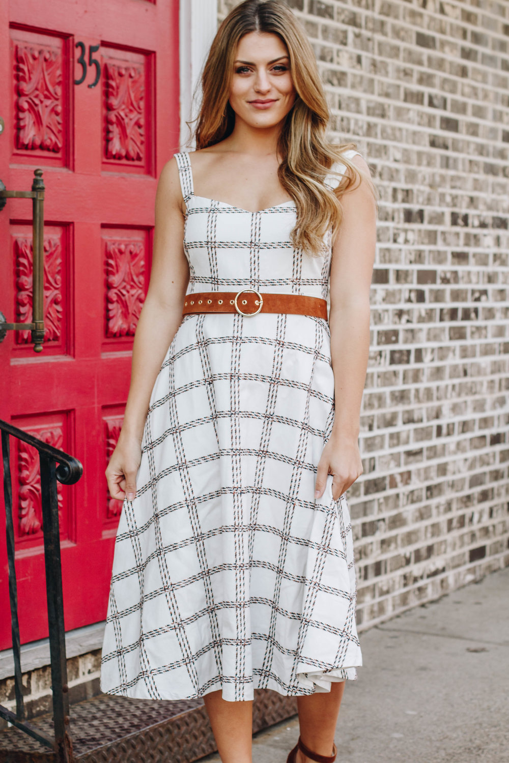 Dress $66  belt (in store only)