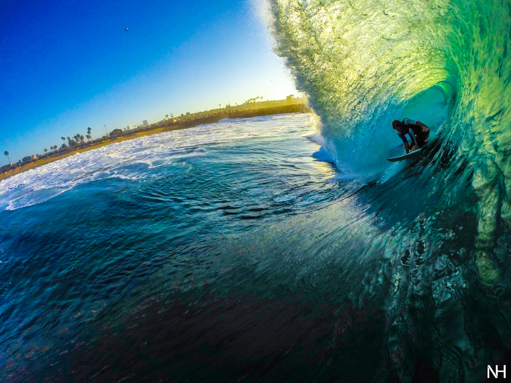 Surfer Magazine Featured Photo