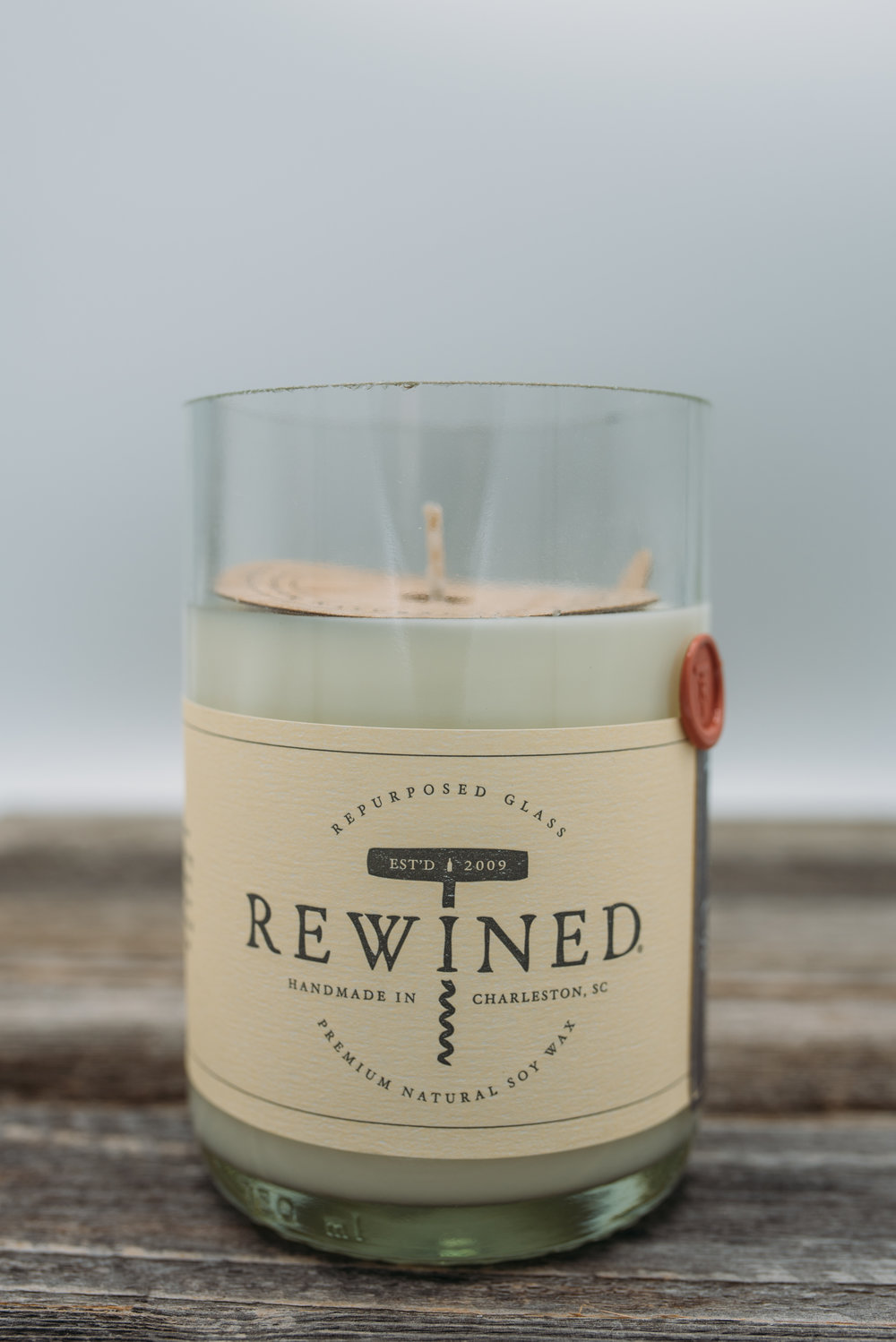 """Rewind"" Zinfadel Soy Candle -  $20.95"