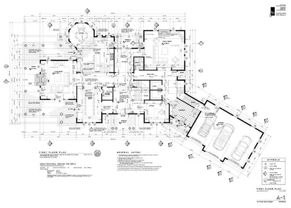 Construction Drawings Jon Michael Wyman Design Planning