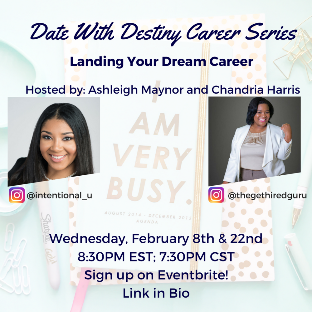 Date with Destiny Career Series