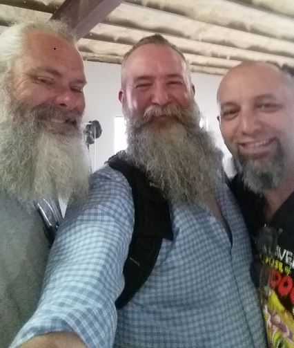 Mr. Bruce Leslie, me, and Mr. Jeff Hamby