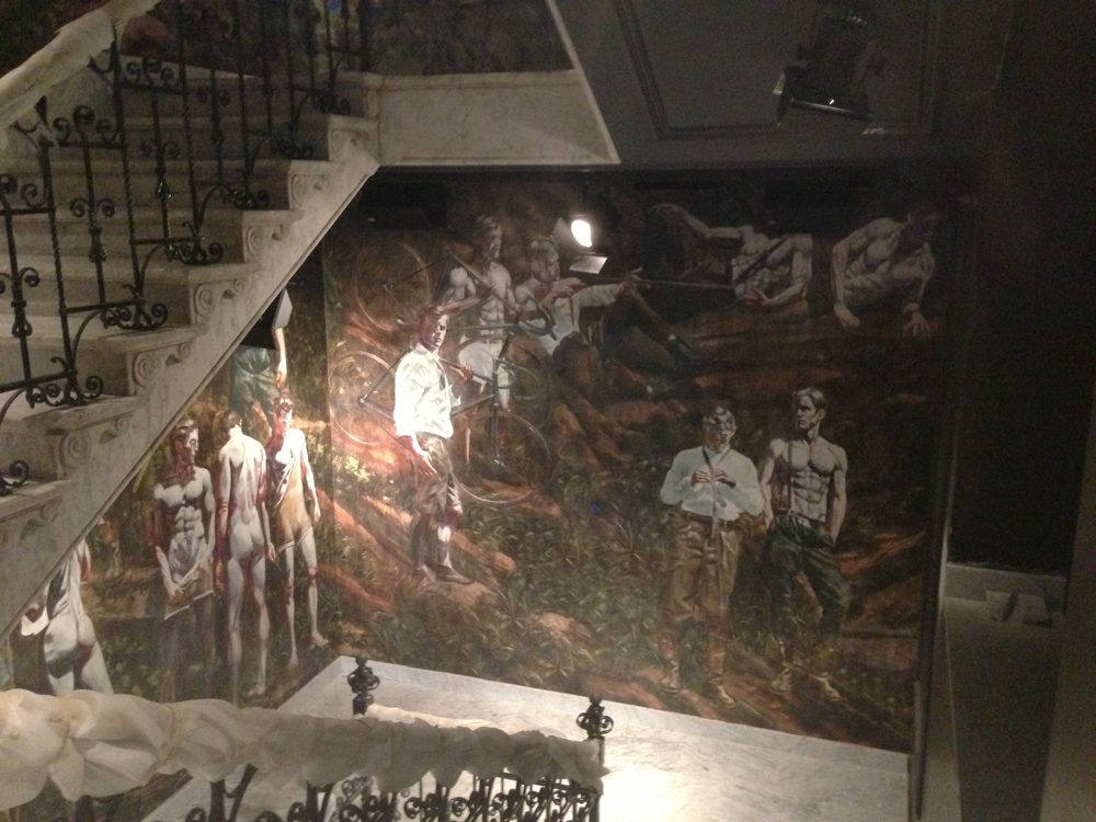 Amsterdam, Netherlands - printed & hand painted murals