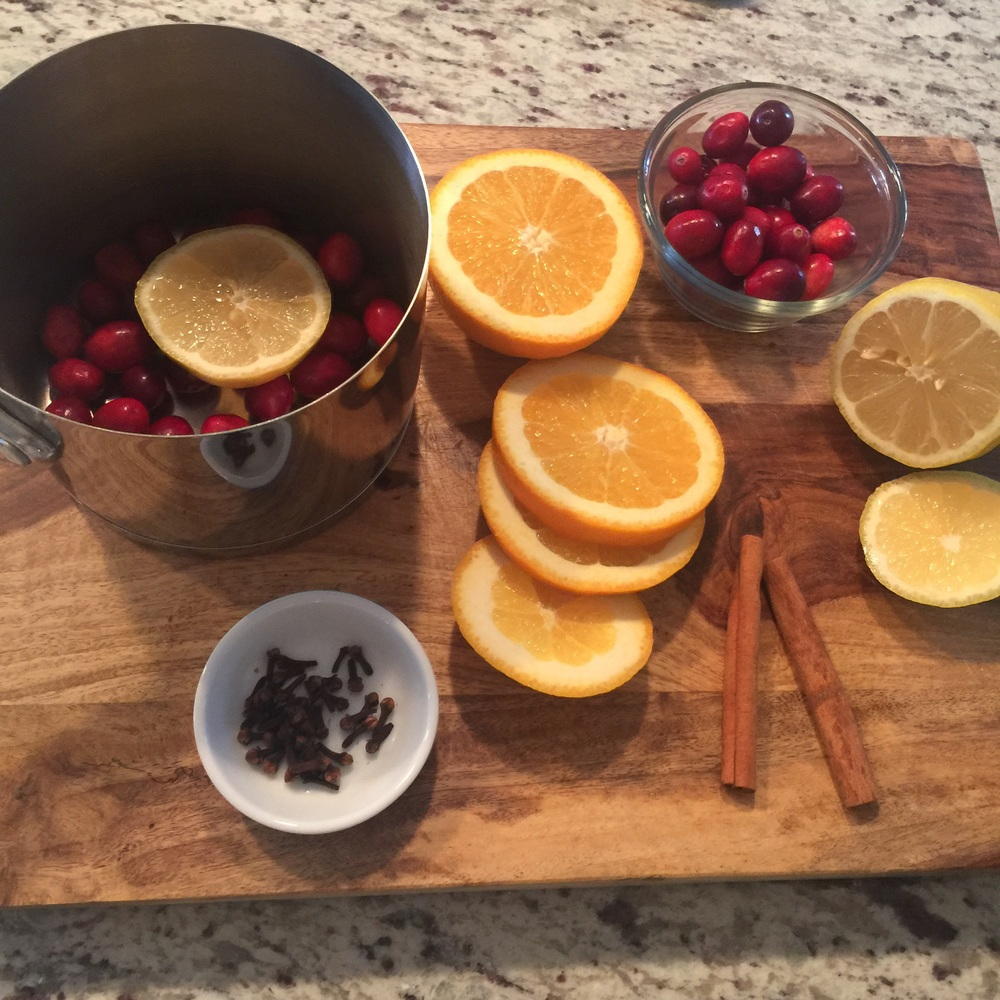 ... Ingredients for the holiday scent mix! So perfect for a cozy winters night!