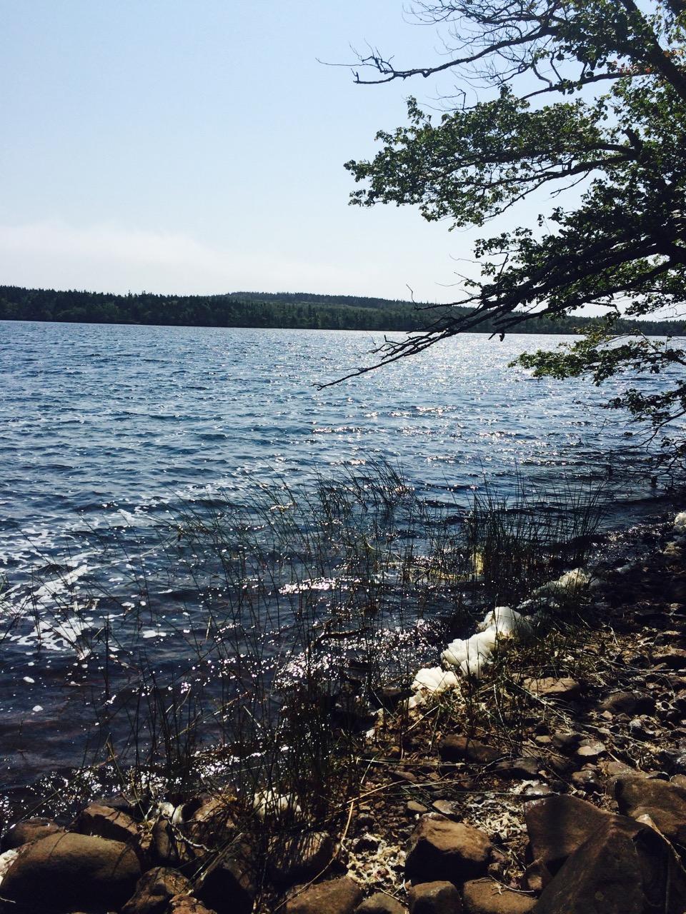 Lake Midway, Digby Neck, Nova Scotia