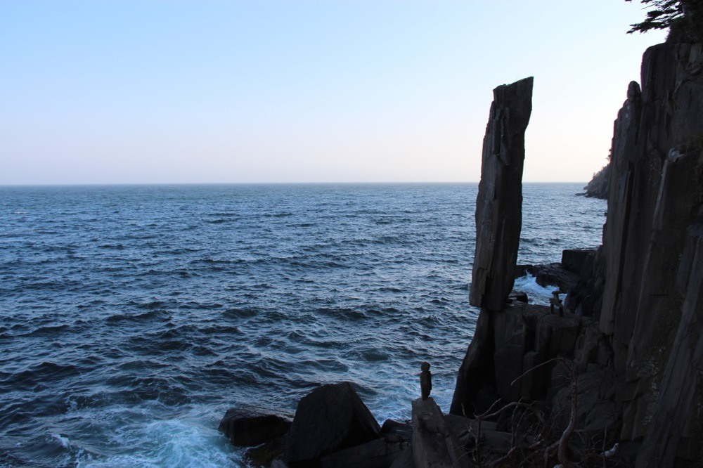 Balancing Rock, Digby, Nova Scotia. Millions of years in the making.
