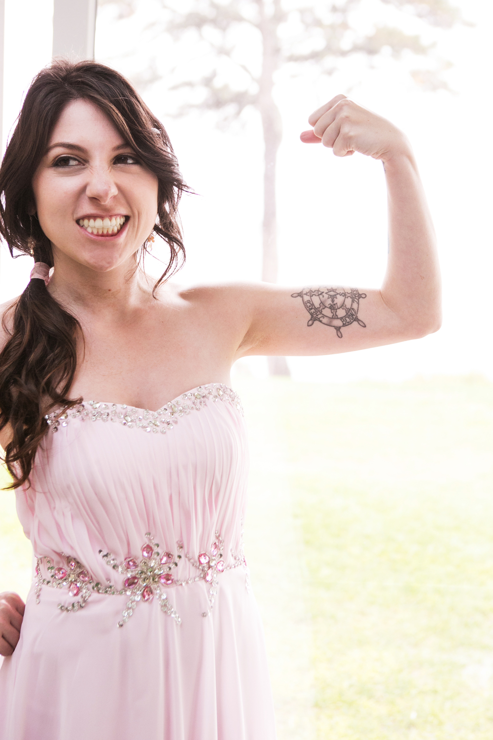 Badass bridesmaid and fearless leader of LA-based Redboot PR, Laura.