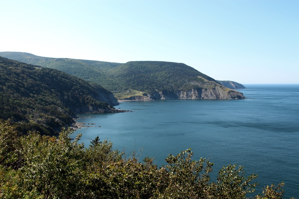 En route to Meat Cove at the tippity top of the Island.