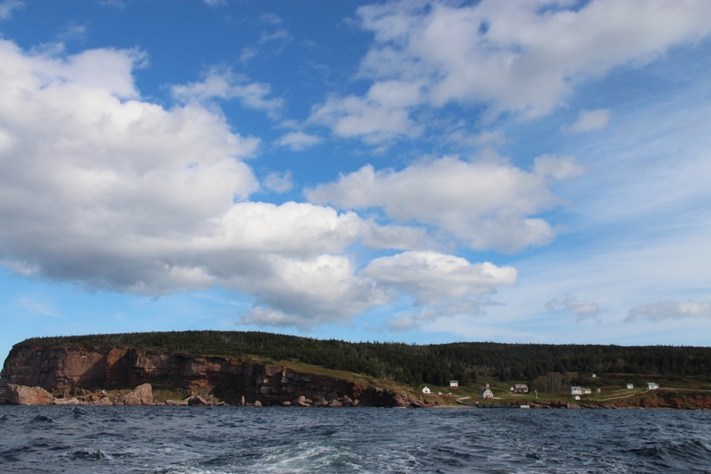 Heading back to Percé from the island.