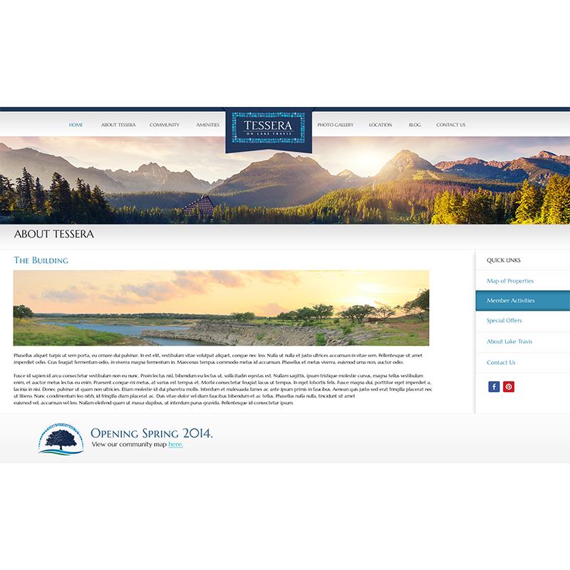 Website Template Internal