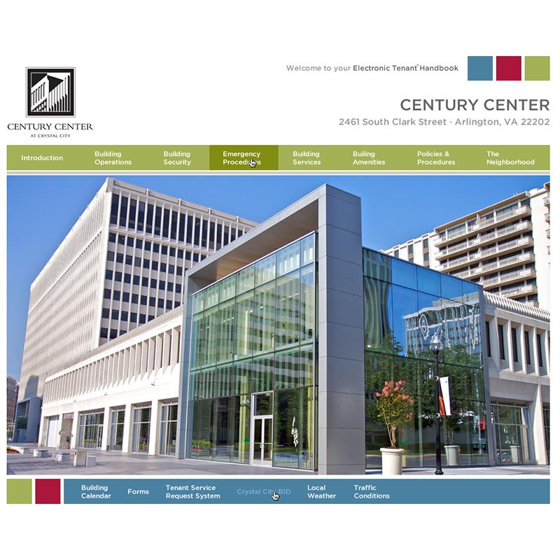 Website Template Homepage