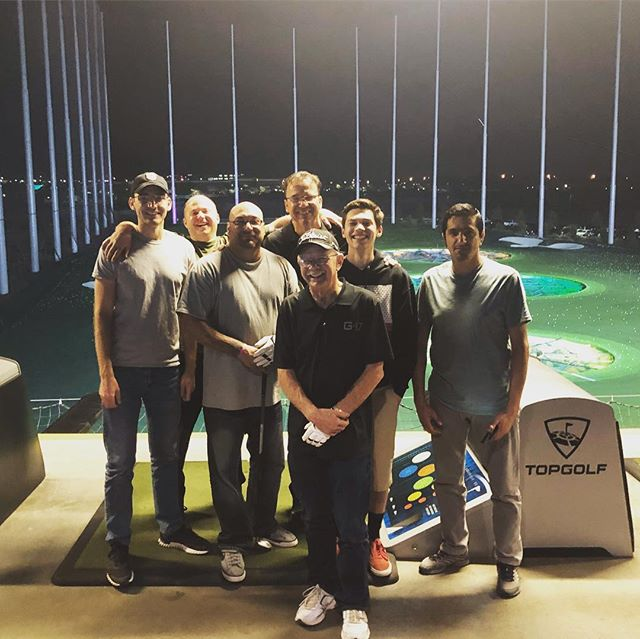 Last friday night at Topgolf with the whole G47 team. It was a bittersweet occasion as we say goodbye and happy retirement to Ronnie. Sad to see him go but we wish him all the best 👍🏼 You will be missed Ronnie!