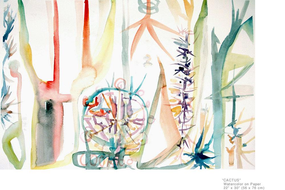 Cactus_WatercolorOnPaper_22x30inches_JoeGinsberg_ContemporaryArtistsNYCArea_001.jpg