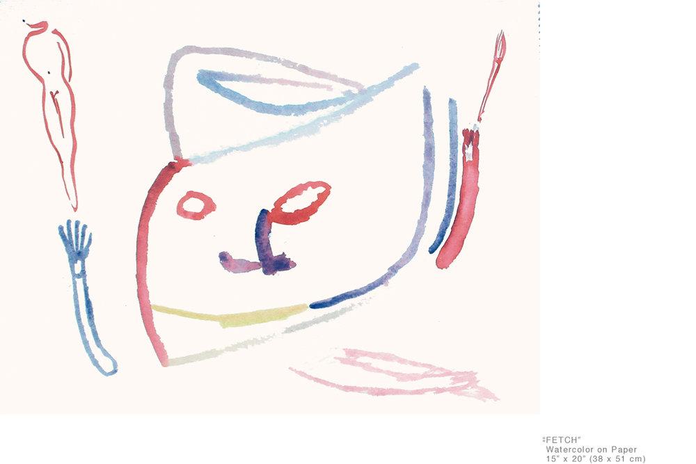 Fetch_WatercolorOnPaper_15x20inches_JoeGinsberg_NewArt_003.jpg