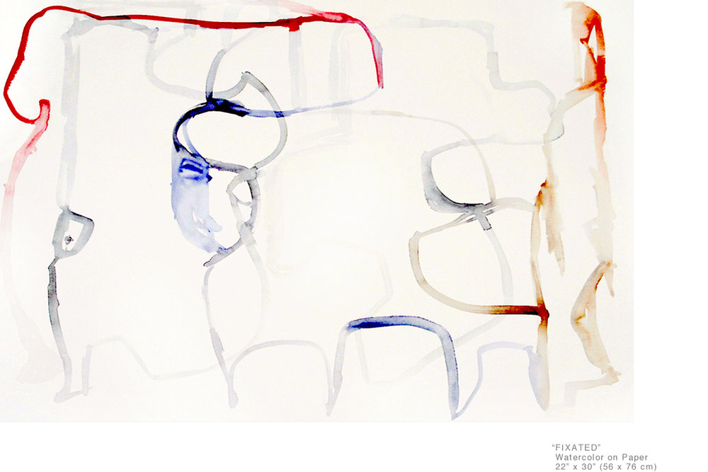 Fixated_WatercolorOnPaper_22x30inches_JoeGinsberg_HotArtistInNY_001.jpg