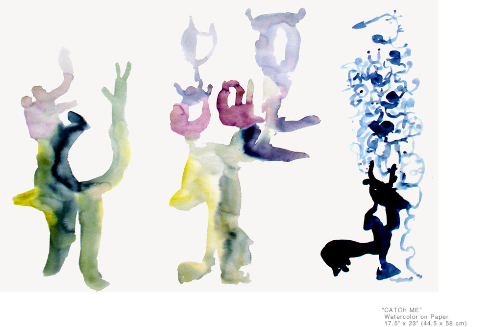 CatchMe_WatercolorOnPaper_17.5x23inches_JoeGinsberg_CollectableArtWorkNY_001.jpg