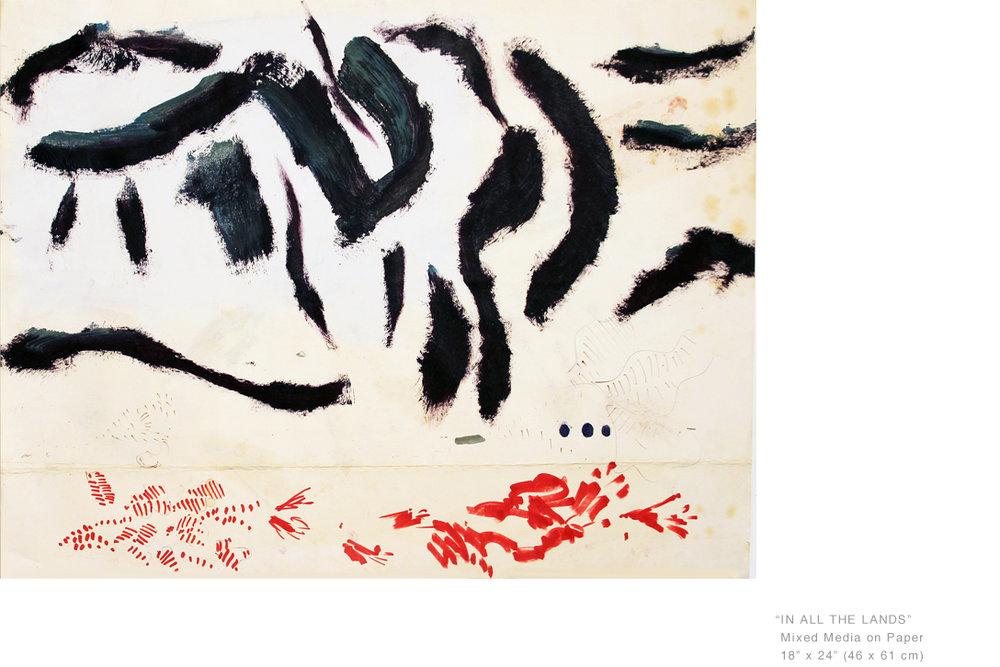 InAllTheLandsMixedMediaOnPaper18 x 24inches - Joe Ginsberg_ArtworkNyNewYorkArtist.jpg