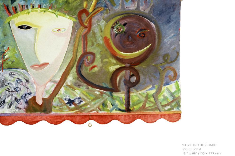 LoveInTheShadeOilonVinyl51 x88 inches - Joe Ginsberg_NYCArtistsToCollect.jpg